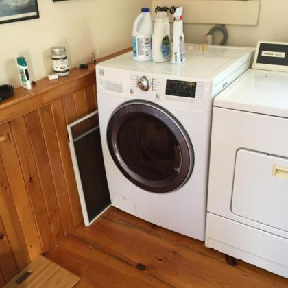 This washer saves water, saves energy and saves money.  It also cleans clothes better.